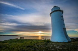 Point Malcolm Lighthouse Coorong