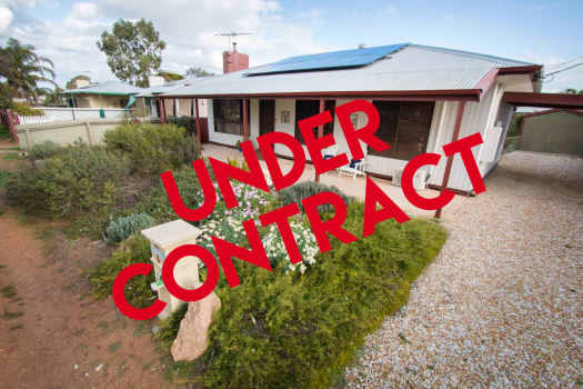 Under Contract sign